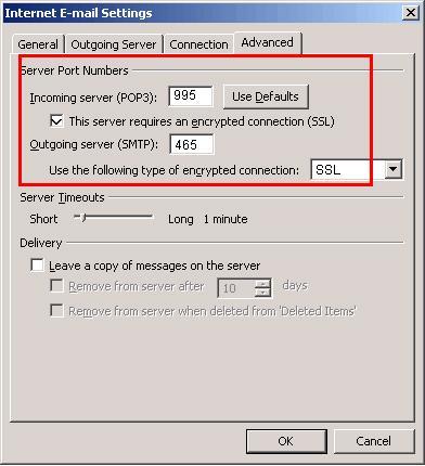 Alternative Server Port Number with SSL | KDDI Deutschland